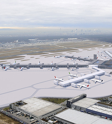 Fraport Neubau Terminal 3, Piers H und J | Frankfurt am Main