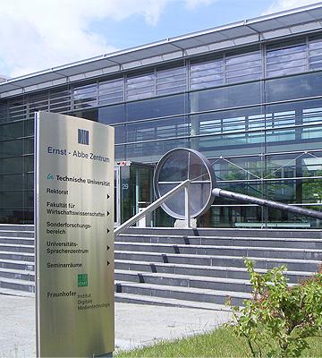 Ernst-Abbe Zentrum der Technischen Universität Ilmenau