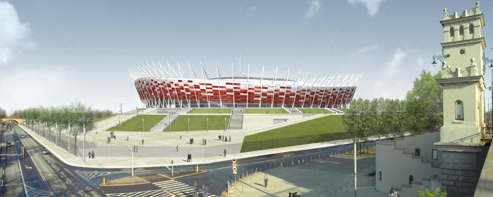 Nationalstadion Warschau | Konzeptstudie